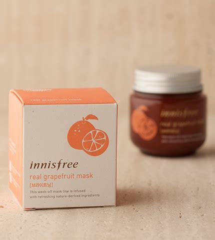 Innisfree Real Grapefruit Mask mặt nạ innisfree real grapefruit mask jeju cosmetics