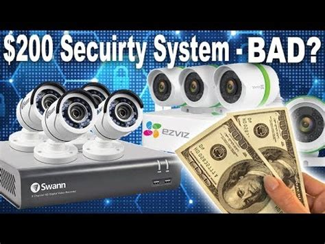 swann 8 channel security system unboxing & install review