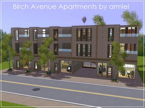 Sims 2 Apartment Update Patch Low Rise Apartment Building Cameron Highlands Apartment