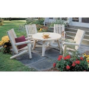 Cedar Patio Furniture Rustic Cedar Furniture Company 174 Cedar Log High
