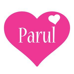 Custom Home Design by Parul Logo Create Custom Parul Logo Love Heart Style