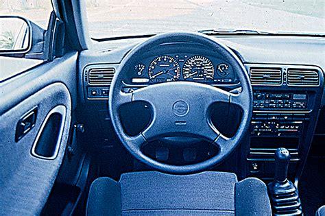 nissan sentra interior 2010 1991 94 nissan sentra consumer guide auto