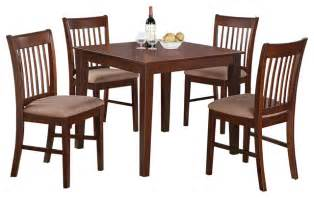 3 small kitchen table set square table and 2 kitchen dining chairs contemporary