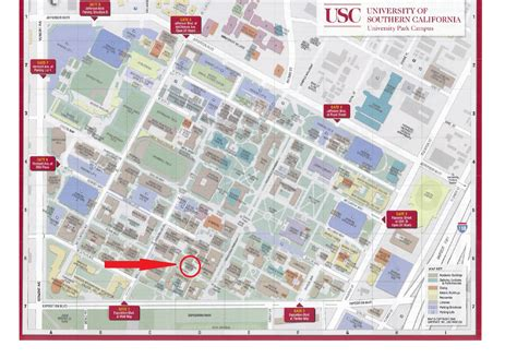 map of colleges in southern california usc cus images images