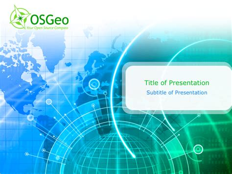 How 2 Map Osgeo Templates Through The Years Gis Powerpoint Templates