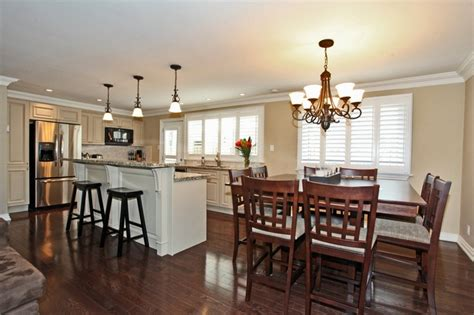 combined kitchen and dining room kitchen dining room combo dream home pinterest