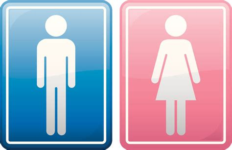 girl and boy bathroom signs people are loving this supermarket s unisex toilet sign because it fights an anti lgbt