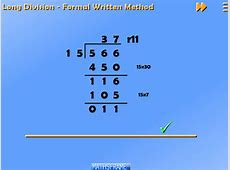 Multiplication and Division - Mathsframe Mathsframe