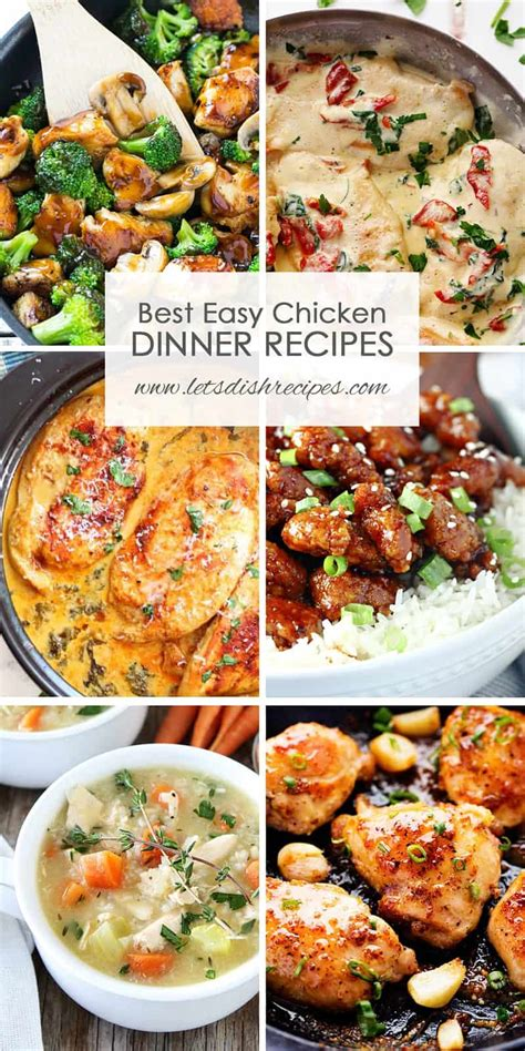best chicken dinners pin let s dish recipes
