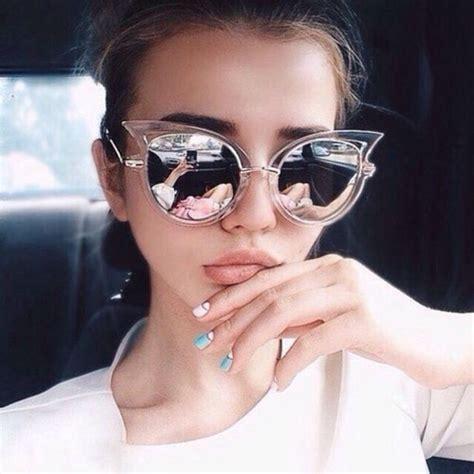 girly l shades sunglasses girly cat eye pink sunglasses retro