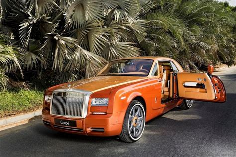 roll royce orange rolls royce actually made this tiger phantom coup 233