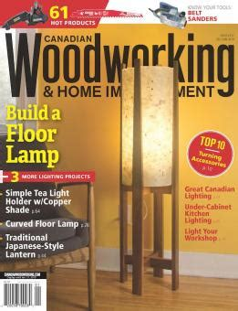 december january  canadian woodworking home