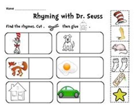 rhyming pattern activities 1000 images about dr seuss on pinterest dr seuss