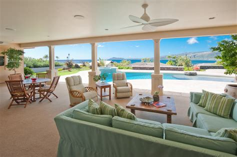 Lanai Patio Designs Lanai Style Patio Hawaii By Archipelago Hawaii Luxury Home Designs