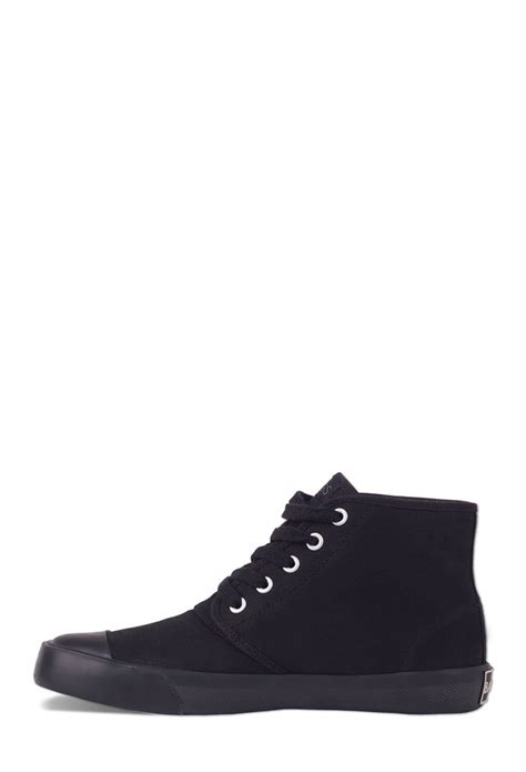 bangs shoes forever 21 bangs shoes onyx high tops in black for lyst