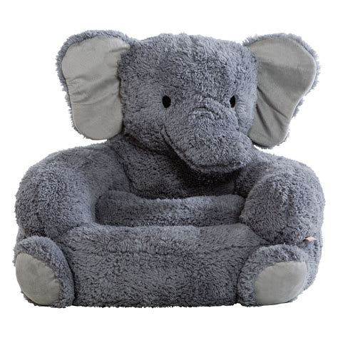 Sears Kitchen Furniture trend lab elephant children s plush character chair baby