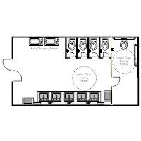 Sample Floor Plan Of A Restaurant floor plan examples