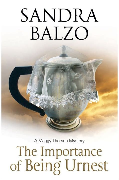 importance of being urnest a coffee house cozy a maggy thorson mystery books balzo