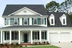 house plans colonial colonial style house plan 4 beds 3 5 baths 2936 sq ft