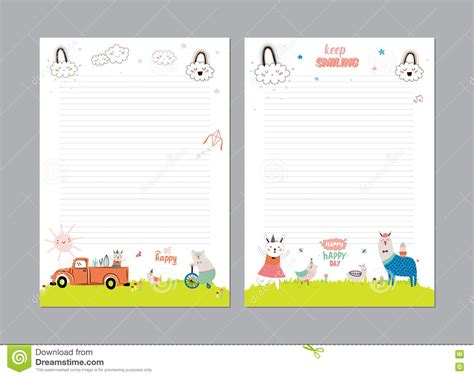 cute calendar daily planner stock vector image 76601240