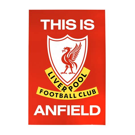 lfc this is anfield poster liverpool fc official store