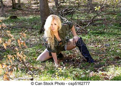 picture of sexy warrior girl sexy blonde guerilla