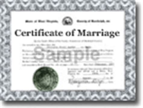 West Virginia Vital Records Birth Certificate West Virginia Wv Marriage Certificates Order Records Vitalchek