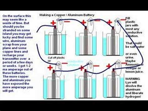 how to make a l cordless how to build a macgyver air aluminium battery with soda