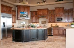 Kitchen Armoire Cabinets by How To Pick The Best Color For Kitchen Cabinets Home And