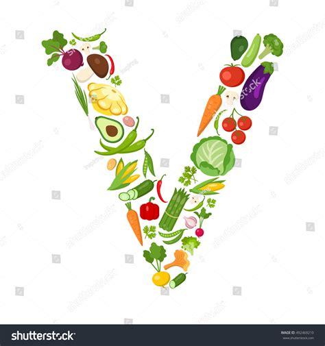letter v vegetables v letter from vegetables stock photo 492469210