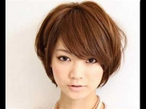 short hairstyles with bangs youtube hairstyle for short neck youtube