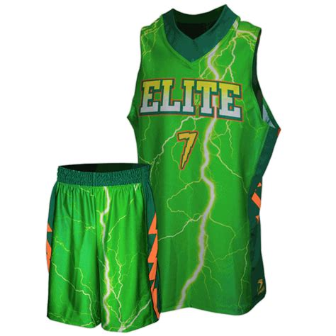 jersey design elite elite lightning basketball uniform team sports planet