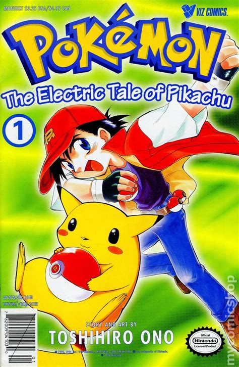 Part 1 The Electric Tale Of Pikachu Reprint
