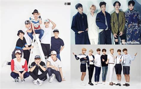 exo yang paling ganteng winner exo hingga bts siapa yang paling ganteng pakai