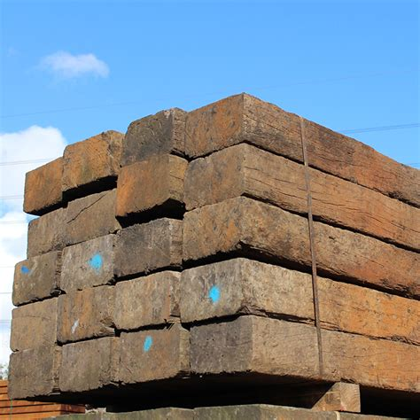 Reclaimed Sleepers by Reclaimed Untreated Railway Sleepers Buy Untreated
