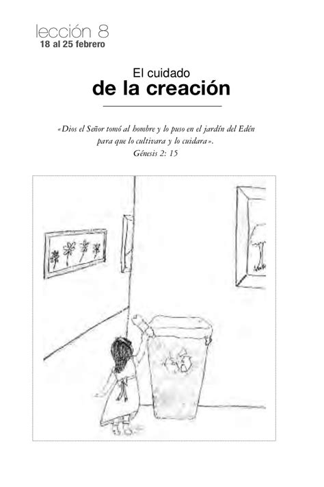 imagenes biblicas de la creacion leccion 8 jovenes el cuidado de la creaci 243 n