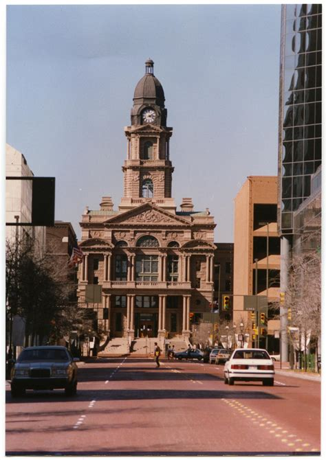 Tarrant County Tx Court Records Tarrant County Courthouse In Fort Worth The Portal To History