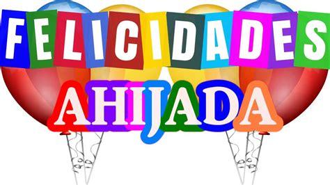 Imagenes De Feliz Cumpleaños Ahijada   feliz cumplea 241 os ahijada felicitaciones tarjetas