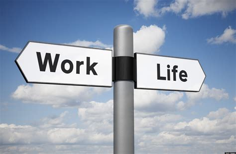 the life and works perfect balance is not an option huffpost