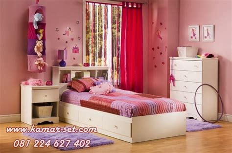 set kamar tidur anak perempuan minimalis modern desain terbaru kamar set kamar set