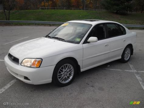 2003 Subaru Legacy Sedan by 2003 White Pearl Subaru Legacy L Sedan 57875091