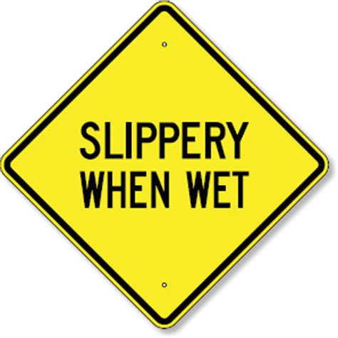 slipper sign slipper when 28 images slippery when signs from seton