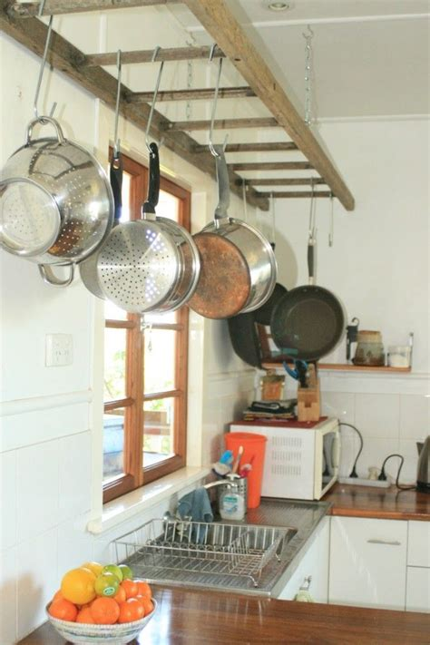 25 best ideas about pot rack hanging on pot