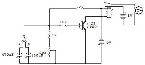 spesifikasi transistor c9013 delay circuit using capacitor and transistor 28 images capacitor how can i calculate time