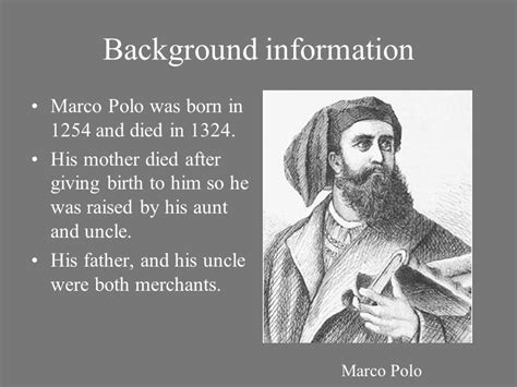 marco polo facts biography com by emily barrow 7th period ppt video online download