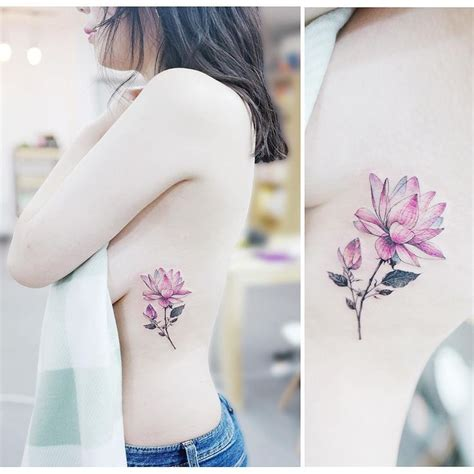 watercolor tattoo korea best 25 watercolor lotus ideas on