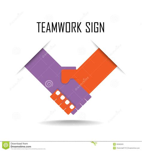 Handshake Abstract Sign Design Template Business Stock Vector Image 35562025 Sign Design Template