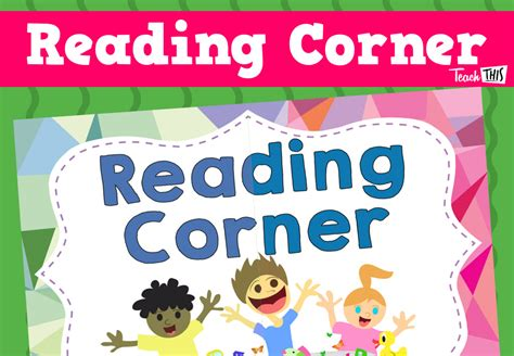 printable reading banner reading corner banner printable classroom displays