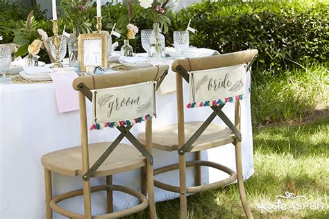 And Groom Chairs by Beautiful And Carefree Bohemian Wedding Inspiration Kate