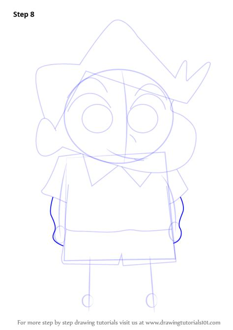 tutorial alis shinchan step by step how to draw kazama from shin chan